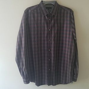 Ted Baker London long sleeve dress shirt